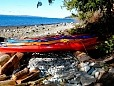 Kayak rentals on site