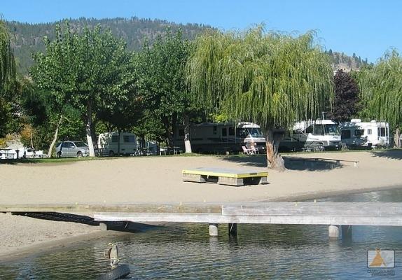 West Bay Beach Resort Rvpark In West Kelowna Bc Canada